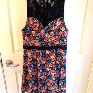 Material Girl Floral Dress ❤️